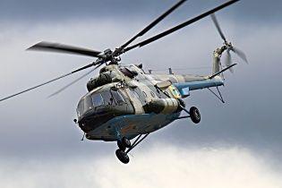 Террористы подбили украинский санитарный вертолет: пилоты живы
