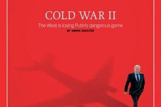 Журнал Time поместил Путина на обложку под заголовком о поражении Запада