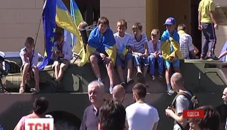 Мітинг солідарності з маріупольцями провели в Одесі