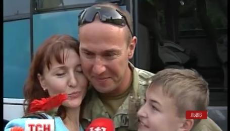 150 десантников 80 аэромобильной бригады вернулись во Львов