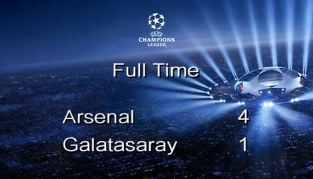 Арсенал - Галатасарай - 4:1. Відео матчу