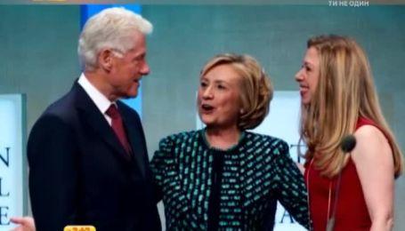 Білл Клінтон невдовзі стане дідусем