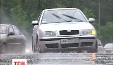 Украина на этой неделе будет залита дождями