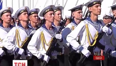 Майбутні військові моряки склали присягу в Одесі