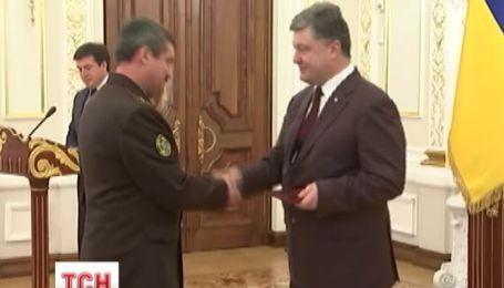Петр Порошенко вручил государственные награды 28-ми воинам