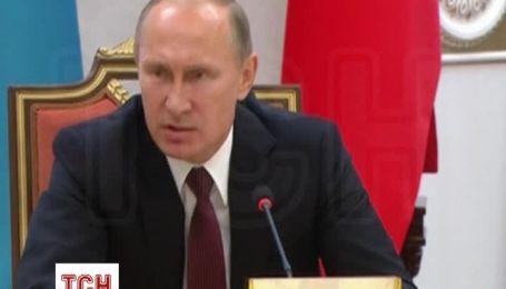 Путін заявив що РФ теж хоче зближення з ЄС