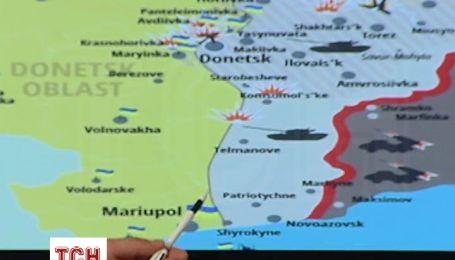 РНБО показала стан Південного фронту
