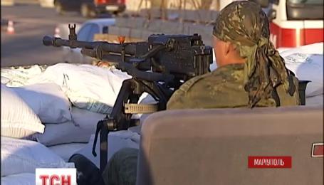 Вночі бойовики обстріляли позиції сил АТО під Маріуполем