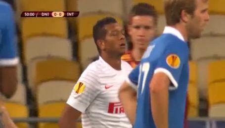 Дніпро - Інтер - 0:1. Відео матчу