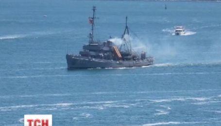 Группа боевых кораблей НАТО вошла в акваторию Черного моря