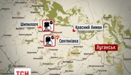 Под Красным Лиманом взорвали пути, а на Луганщине обстреляли ТЭС