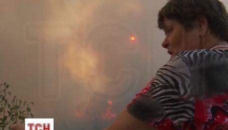 Масштабный лесной пожар охватил центральную Португалию