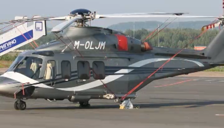 Вертолет Януковича заметили на аэродроме Нижнего Новгорода