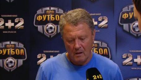 Маркевич объяснил ничью Днепра с Ворсклой
