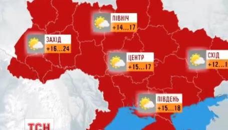 В Украину пришло бабье лето