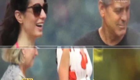 Джордж Клуни и Амаль Аламуддин больше не скрывают чувств