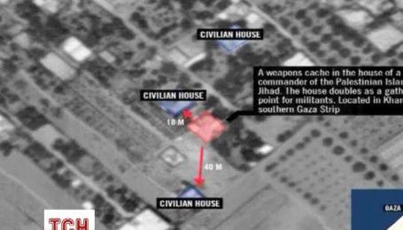 Ізраїльська армія наносить точні обстріли по позиціям бойовиків в житлових кварталах