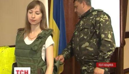На Полтавщині в'язні почали шити чохли для бронежилетів
