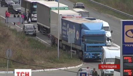 На Чернігівщині люди перекрили рух транспорту