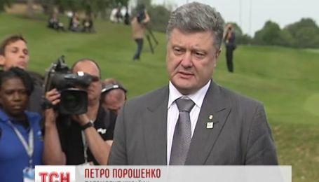 Порошенко віддав наказ Генштабу Збройних сил не стріляти