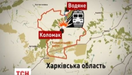 Железнодорожное полотно подорвали неизвестные на Харьковщине