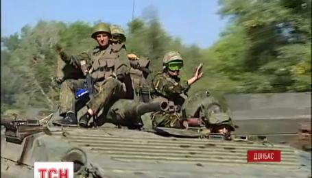 На подступах к городу Счастье боевики провоцируют украинских военных