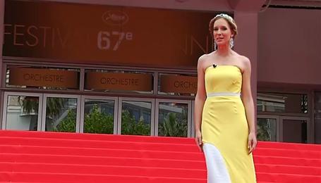 Голливудские звезды на Каннском фестивале поддержали Украину