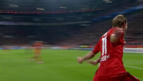 Байер - Бенфика - 1:0. Видео гола Кисслинга