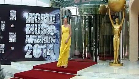 Найуспішніші артисти з усього світу збираються на церемонії WORLD MUSIC AWARDS