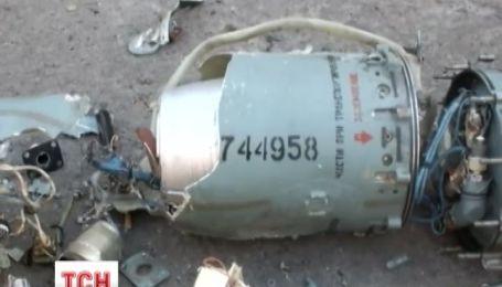 Террористы сбили военный самолет СУ-25 на Луганщине