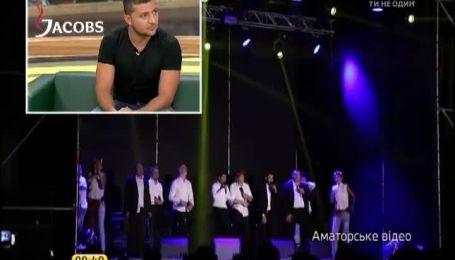 Зеленского поразили военные в АТО, которые плакали на их концертах