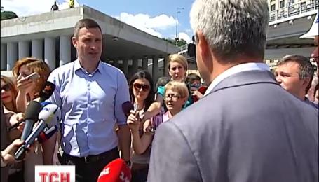 На День независимости откроют нововыстроенную транспортную развязку на Почтовой площади