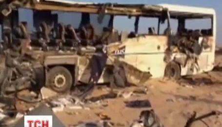 Вблизи Шарм-эль-Шейха столкнулись два туристических автобуса