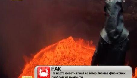 Канадец снял селфи в кратере действующего вулкана