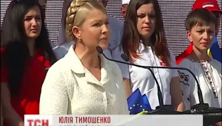 Ув'язнена в Росії українська льотчиця Надія Савченко очолила виборчий список Батьківщини