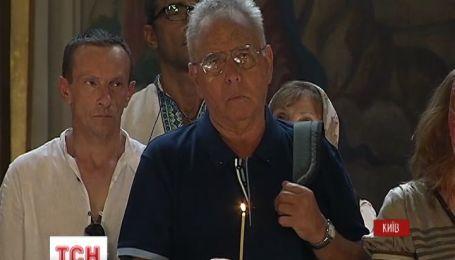 У Києві вшанували пам'ять Новодворської у Михайлівському соборі