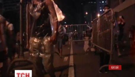 Не утихают массовые протесты в Гонконге