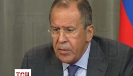 """Лавров: США, Європа і НАТО підстьобують """"партію війни"""" в Києві"""