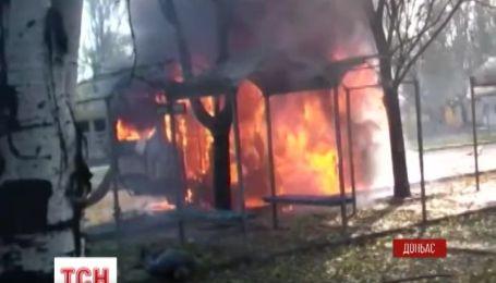 10 человек погибли, еще 9 раненые в результате утреннего обстрела Донецка