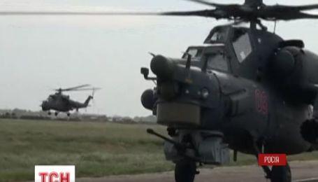 Россия начала полномасштабные военные учения на границе с Украиной