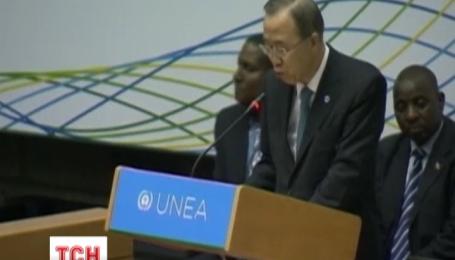 Генеральный секретарь ООН осудил незаконные действия боевиков на Востоке Украины