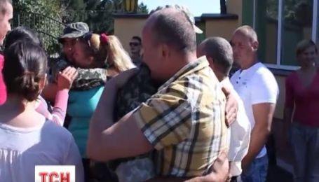 Десять военнослужащих 80 аэромобильной бригады вернулись домой из зоны АТО