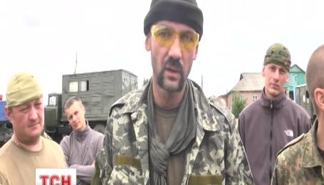 Двенадцатый батальон территориальной обороны Киева едет на отдых