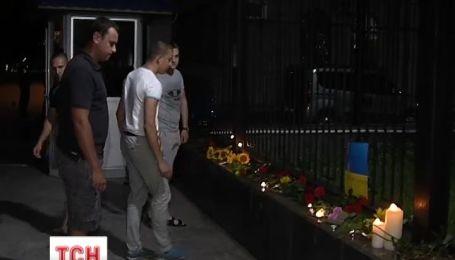 Українці вшанували пам'ять загиблих у метро під російським посольством