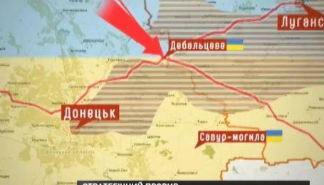 Мапа АТО: за добу військові зайняли кілька стратегічних пунктів
