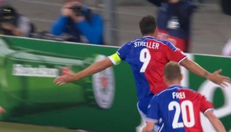 Базель - Ливерпуль - 1:0. Видео гола Штреллера