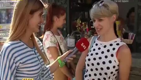 В центре Киева можно полакомиться женскими и мужскими хот-догами