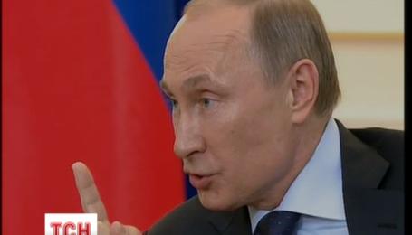 Путін обурився секторальними санкціями проти Кремля