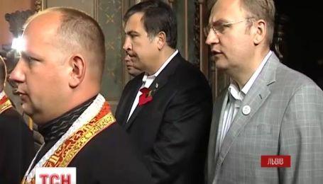 Михаил Саакашвили провел день во Львове