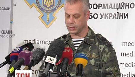 За прошедшие сутки в зоне АТО на Востоке Украины погиб один военный